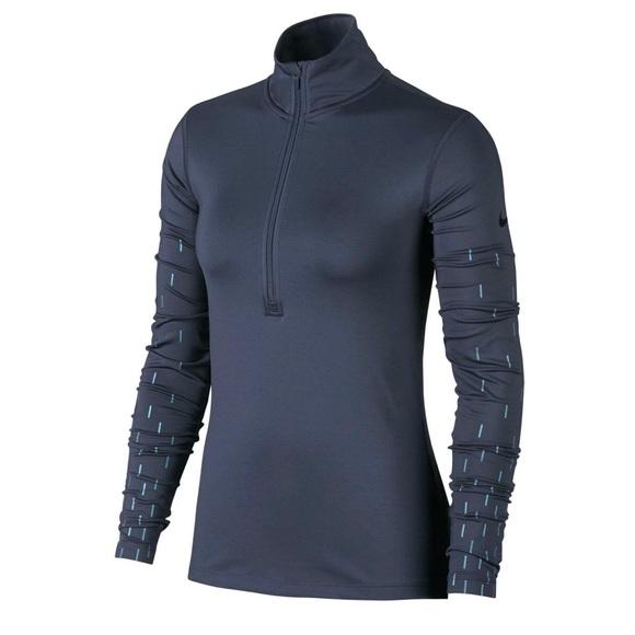 a85999863 Nike Tops   Womens Pro Hyperwarm Linear Long Sleeve Shirt   Poshmark